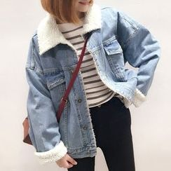 YUKISHU - Fleece Lined Denim Jacket