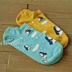 CherryTuTu - Animal Print Socks