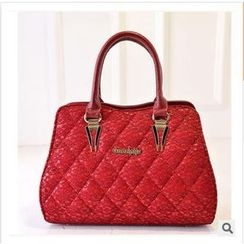 LineShow - Quilted Lace Tote