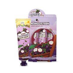 esfolio - Violet Mangosteen Hand Cream Set 3pcs