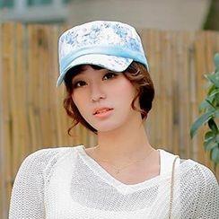Thantrue - Floral Lace Cap