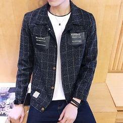 Alvicio - Check Long-Sleeve Jacket