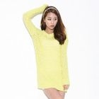 Secret;BB - Crew-Neck Open Knit Top