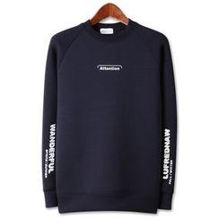 Seoul Homme - Neoprene Printed Pullover