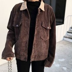 Clair Fashion - Corduroy Jacket
