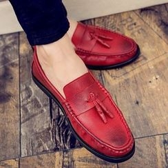 Shino - Paneled Loafers