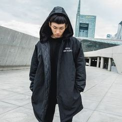 TNMK - Quilted-Lining Hooded Coat