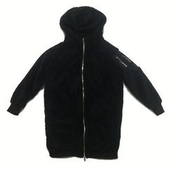 Chuoku - Hooded Long Jacket