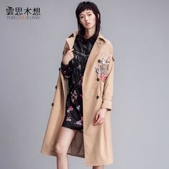 Cloudwood - Tiger Embroidered Trench Coat