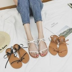 Chryse - Lace Up Sandals