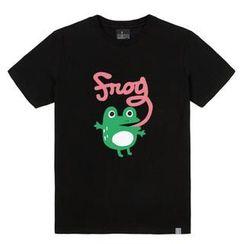 the shirts - Frog Print T-Shirt