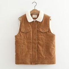 MAOMAO - Buttoned Corduroy Vest