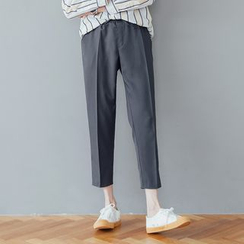 DANGOON - Drawstring-Waist Tapered Dress Pants