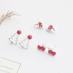 Love Generation - Christmas Earrings - Christmas Tree / Socks / Hat