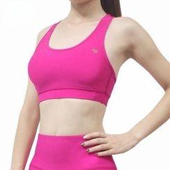 Chanson - 純色運動胸衣