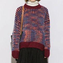 Heynew - Patterned Knit Top
