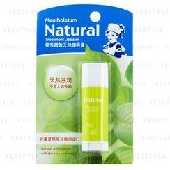 Mentholatum - Natural Treatment Lipbalm (Aloe and Vitamin E)