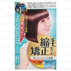 Utena - Proqualite Hair Straightening Set (Short Hair)