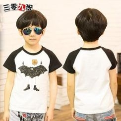 Lullaby - Kids Printed Raglan Short-Sleeve T-shirt