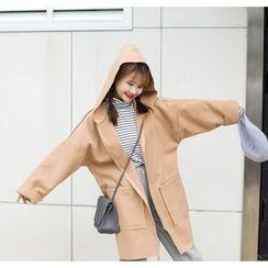 Napkiki - 連帽寬鬆大衣