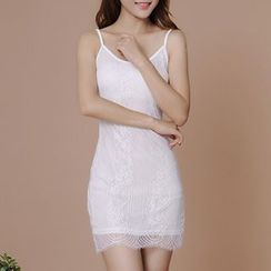 Sofia - Lace Slipdress