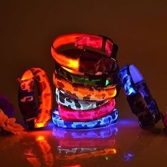 Hotaru - LED Camouflage Print Pet Collar