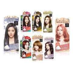 miseenscéne - Hello Bubble Foam Color (9 Colors): Hairdye 30g + Oxidizing Agent 60g + Secret Magic Ampoule 5g + Treatment 6ml