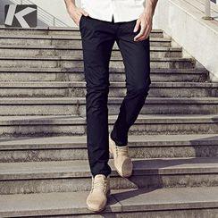 Quincy King - Slim-Fit Casual Pants