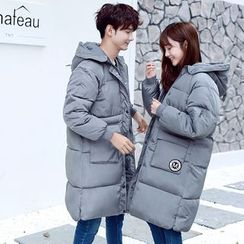 We Belong - Couple Matching Long Padded Coat