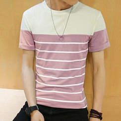 Gurun Vani - Stripe Short-Sleeve T-shirt