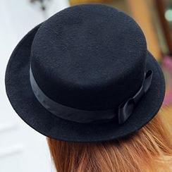 Hats 'n' Tales - Bow Fedora Hat
