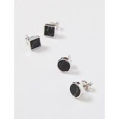 FROMBEGINNING - Set of 2: Stud Earrings