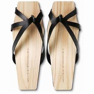 Mizutori - Hibinokodue Wood Sandals