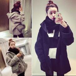 Bloombloom - Hooded Woolen Jacket