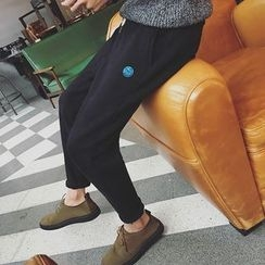 Soulcity - Embroidered Sweatpants