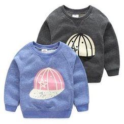 Seashells Kids - Kids Cap Print Pullover