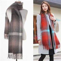COCOAVENUE - 雙色圍巾