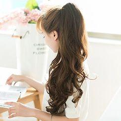 Hairess - 捲髮爪夾式馬尾