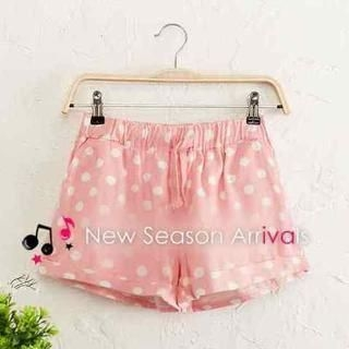 JVL - Drawstring-Waist Patterned Shorts