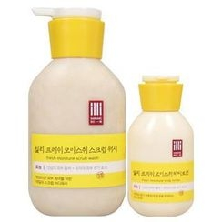 illi - Set: Fresh Moisture Scrub Wash 400ml + Body Lotion 100ml