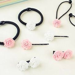 Tivi Boutique - Rose Hair Tie / Rose Hair Clip