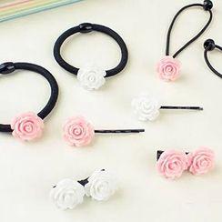 Tivi Boutique - 玫瑰发带 / 玫瑰发夹