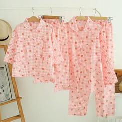 Cuckoo - Family Matching Loungewear Set: Shirt + Pants