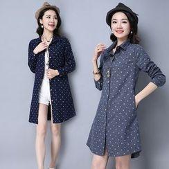 Yeeya - Dotted Long Shirt