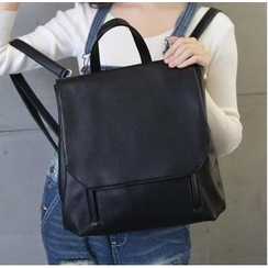 Youshine - Faux-Leather Backpack