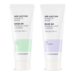 The Face Shop - Air Cotton Makeup Base SPF30 PA++ (#01 Mint)
