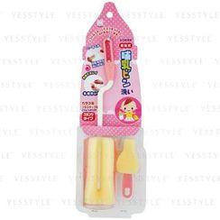 小久保 - 奶瓶海棉刷 (粉紅色)