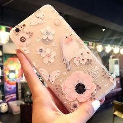 Kindtoy - 印花手机保护套 - iphone 6 / 6 plus