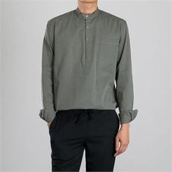 STYLEMAN - Long-Sleeve Henley