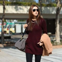 SO Central - Pocket-Front Long Sweater